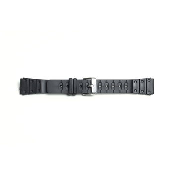 Black Divers Strap     8831 - 18MM