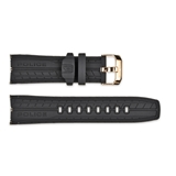 BLACK POLICE RESIN STRAP FOR 14443JSR/02P
