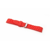 Red Silicone To Fit Ice Watch®    8107 - 17MM