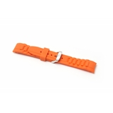 Orange Silicone To Fit Ice Watch®    8113 - 17MM