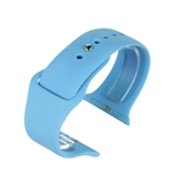 Blue silicone to fit Apple Watch® APLSI-BLUE/38