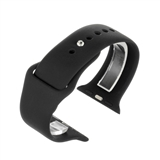 Black silicone to fit Apple Watch® APLSI-BK/38