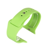Green silicone to fit Apple Watch® APLSI-GRN/38