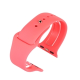 Pink silicone to fit Apple Watch® APLSI-PNK/38