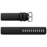 Black Silicone Strap To Fit Charge 3 (Large) -FB100/C3L