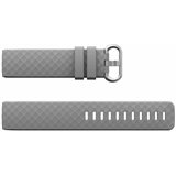 Grey Silicone Strap To Fit Charge 3 (Large) -FB104/C3L