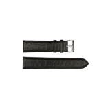 Black Leather Croc Hugo Boss 22mm - HB1351142331