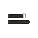 Black Leather Croc Hugo Boss 22mm - HB1401142369