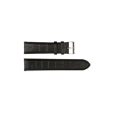 Black Leather Croc Hugo Boss 22mm - HB2411142758