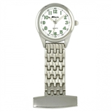 SILVER NURSES FOB WATCH  -  R110102