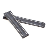 Dk Blue Alligator Style Deployment Strap for Breitling® WB4-20/18