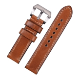 Light Brown Premium Hand Stitched Strap for Panerai® 20mm WP11-20