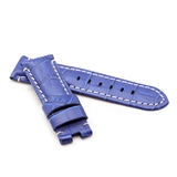 Light Blue Alligator Style Deployment Strap for Panerai® WP5-22/20