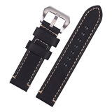 Black Premium Hand Stitched Strap for Panerai® 20mm  WP9-20